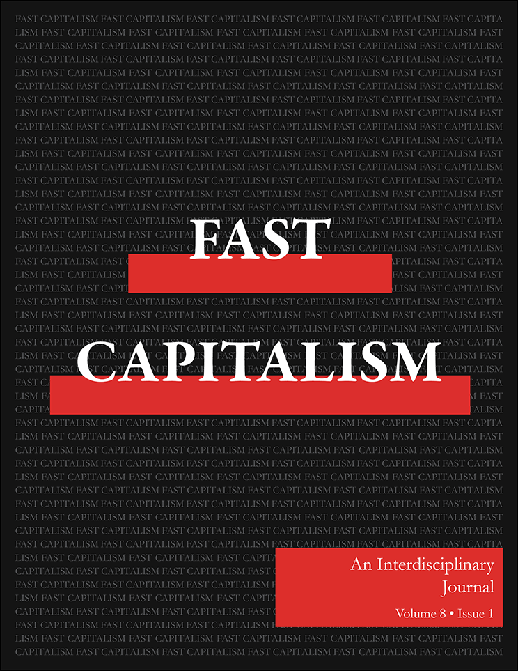 Fast Capitalism - Volume 8, Issue 1 Cover